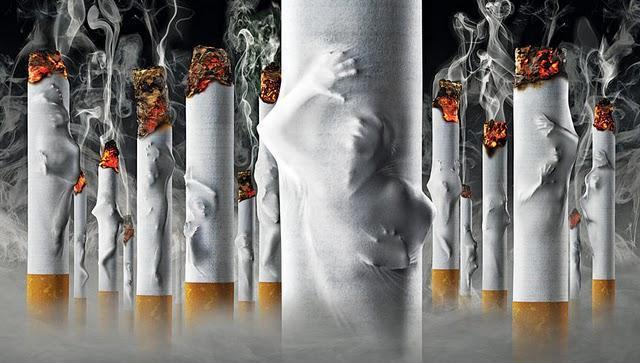 Sfântul care a învins patima fumatului