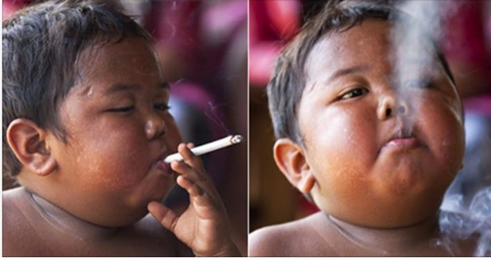 Vă mai amintiți de băiatul care fuma 40 de țigări pe zi? Iată cum arată 8 ani mai târziu
