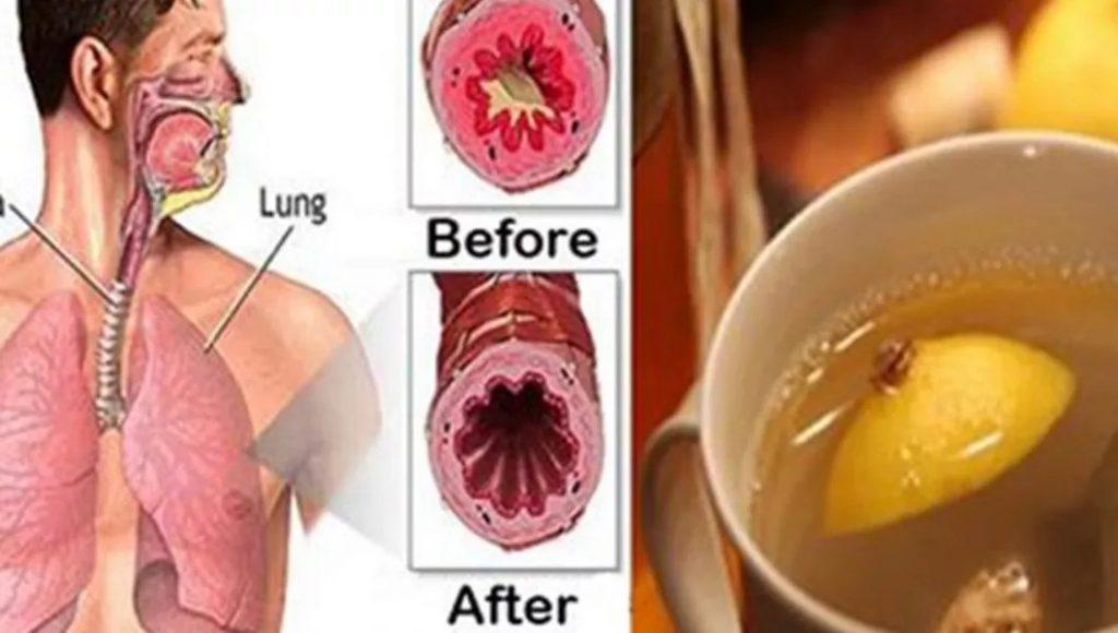 Elimină mucusul din piept și gât cu acest truc genial! Puțini sunt cei ce știu asta